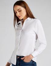 Women`s Tailored Fit Poplin Shirt Long Sleeve